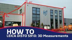 Leica Disto S910: 3D Measurements