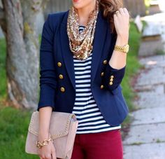 nautical fashion, style, woman, clothes