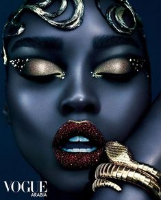 beauty Photoshoot inspiration - Olamide-El & Fatou Jobe Rock Futuristic Party Makeup In This Viral Vogue Arabia Feature Best Beauty Tips, Beauty Hacks, Futuristic Party, Art Afro, Make Up Inspiration, Photoshoot Inspiration, Fashion Inspiration, Beauty Shoot, Black Girl Art