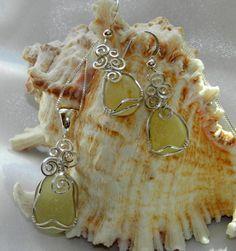 yummy yellow sea glass
