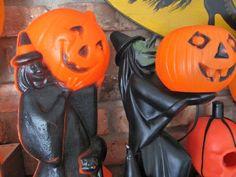 Witch Blowmolds Halloween Blow Molds, Halloween Make, Vintage Halloween, Which Witch, Blow Molding, Thanksgiving Ideas, Hallows Eve, Autumn, Fall