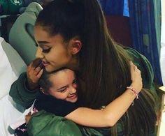 Ariana at Manchester hospital
