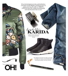 """""""Fratelli Karida - Sneakers"""" by yexyka ❤ liked on Polyvore featuring H&M, Ash, D&G, Victoria Beckham, Bobbi Brown Cosmetics, Dsquared2, Skullcandy and FratelliKarida"""