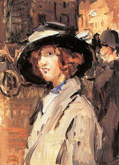 Isaac Israëls (1865-1934) - Cockney girl