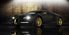 Mansory recouvre d'or la Bugatti Veyron Linea Vincero d'Oro