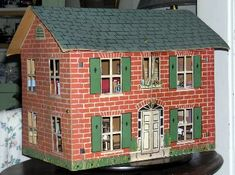 Mother's Doll House - Antique Tootsie Dollhouse