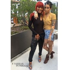 Spied at #rmc2016 : @kekepalmer and @kehlani 💣💣💣💣 Thoughts on their looks?  #instafashion #style #instastyle #fashionbombdaily #celebritystyle #fashion #kehlani #kekepalmer #rmc16
