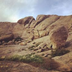 Independence Rock in Alcova, WY