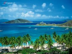 St. Thomas. Such a beautiful place ..water was so clear that you could see for miles down in the ocean when out in it ...Lynn :)