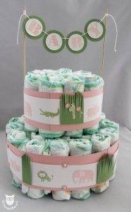 Stampin' Up! Windeltorte (diaper cake)