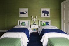 Bellos dormitorios con dos camas