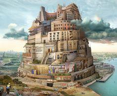 волшебные замки Emily Allchurch