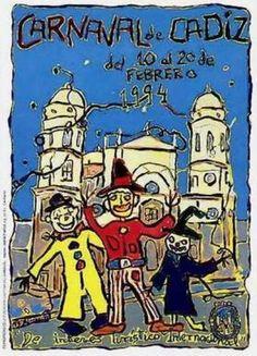 Cartel Carnaval de Cadiz año 1994