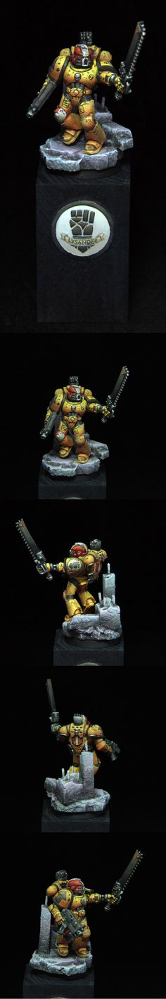 40k - Veteran Sergeant Lysander of the Imperial Fists