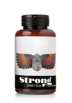 Strong, Nutrition Supplements - The Dieline -