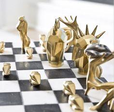 Kelly Wearstler's take on chess