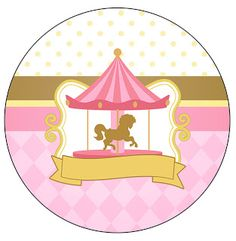Kit Imorimible Carrusel GRATIS Carnival Themes, Circus Theme, Party Themes, Carousel Birthday Parties, Carousel Party, Baby Coloring Pages, Ideas Para Fiestas, Birthday Crafts, Craft Party