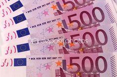 Europee banconote da 500 euro — Foto Stock © frizio #109217952