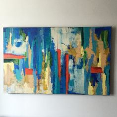 High Rise Mixed media on canvas, 2012 122 x 76 cm