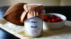 Kokos-Mandel-Creme für Scones