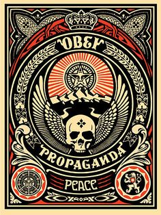 Shepard Fairey Obey Psychedelic Hippie Peace Art Poster ~ ☮~ Shepard Fairey is a street artist. ☮  psychedelic, hippie art, revolution OBEY style, street graffiti, illustration and design. ☮