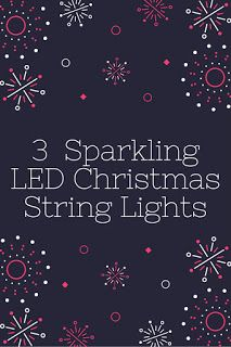 Smart Working is Hard Working: LED Christmas String Lights