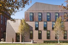 Tozzer Anthropology Building at Harvard University, by Kennedy & Violich Architecture.