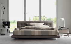 Comfort, benessere ed eleganza senza tempo . Il nostro letto matrimoniale Doze    http://www.flou.it/it/products/beds/doze_94  Comfort and elegance. Our bed Doze  Design by Rodolfo Dordoni
