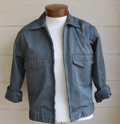 Vintage Mens Jacket Eisenhower Jacket Olive by founditinatlanta, $40.00