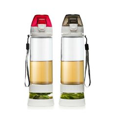 600ml Creative Outdoor Tour Travel Plastic PC Water Bottles Handy Cup With Lid Portable Cup Bottle With Rope Tea Cup BPA Free