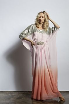51931690d36c4 Lotus Kaftan by Wafa Saifi (SS12 Collection) Bcbg