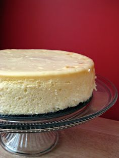 Eva Bakes - There's always room for dessert!: Patty's White Chocolate Cheesecake