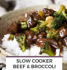 Slow Cooker Beef & Broccolie recipe