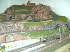 Modellbau Weber Model Railway Track Plans, Spur, Shelving, Mount Rushmore, Layouts, Travel, Trains, Paisajes, Model Train