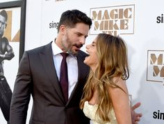 Pin for Later: Sofia and Joe Can't Keep Their Hands Off Each Other at the Magic Mike XXL Premiere