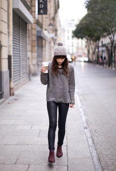 cool starbucks street style photo form leblogdebetty fashion blog