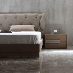 Σετ κρεβατοκάμαρα με δερμάτινο κεφαλάρι Mattress, Bed, Furniture, Design, Home Decor, Decoration Home, Stream Bed, Room Decor