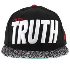Im The Truth Snapback Hat Thur , cheap wholesale  $4.7 - www.capsmalls.com