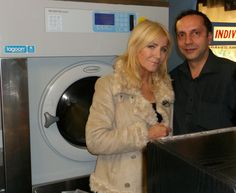 Grand opening at Tops Cleaners,