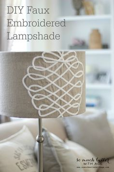 DIY Lampshade Challenge I am so excited about today's post! I'm part of the Lamps.com 2nd Annual DIY Lampshade challenge! Lamps.com sent me a plain white