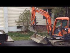 BLADEBUDDY™ excavator attachment - YouTube