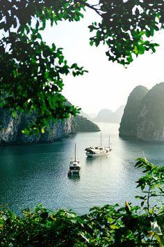 Bai Tu Long Bay, Vietnam / Sharon Radisch | Photographer❥✧➳ Pinterest: miabutler…