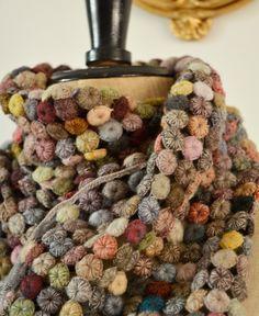 Sophie Digard crochet wool scarf / echape wool the group (3859-MR/NRBVG) by Sophie Digard | petiteparis