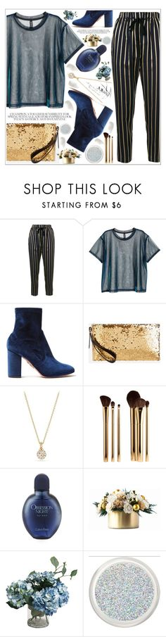 """""""style"""" by lena-volodivchyk ❤ liked on Polyvore featuring Forte Forte, Aquazzura, Ashley Stewart, David Yurman, Sephora Collection, Calvin Klein and BBrowBar"""