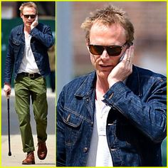#Paul Bettany Uses a Cane to Walk Around New York City --- More News at : http://RepinCeleb.com  #celebnews #repinceleb #Gossip, #Music, #Newsroom, #PaulBettany