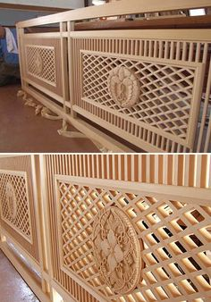 . Decor, Wood Railing, Wood Front Doors, Carved Furniture, Stair Decor, Wooden Wall Art, Wooden Doors, Carved Chairs, Wood Carving Furniture