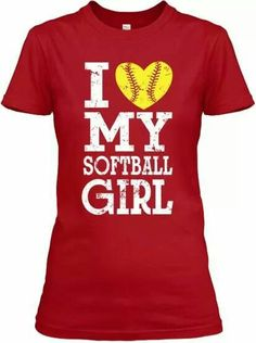 I ♡ my softball girl