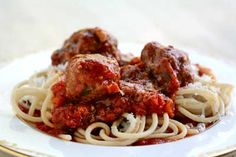 Spaghetti and Meatballs Recipe | Simply Recipes