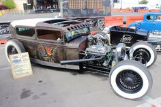 "1930 Ford Model A ""Sailor Jerry"" hot rod (For all the tattooed hot rod freaks out there)"