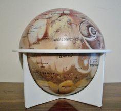 Mars globe. I need this. NEED!